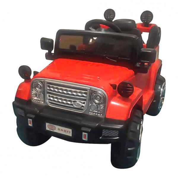 Carro Elétrico Jipe Elétrico Infantil BZ J1 12V Vermelho com Músicas e Luzes BARZI MOTORS