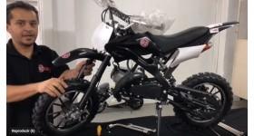 Como montar sua Mini Moto Cross 49cc BZ Arena Barzi Motors