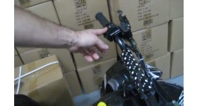 Quadriciclo Automático BZ Moskiti Preto Barzi Motors NF11994