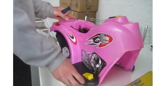 Triciclo eletrico Barzi Motors- teste do pedal