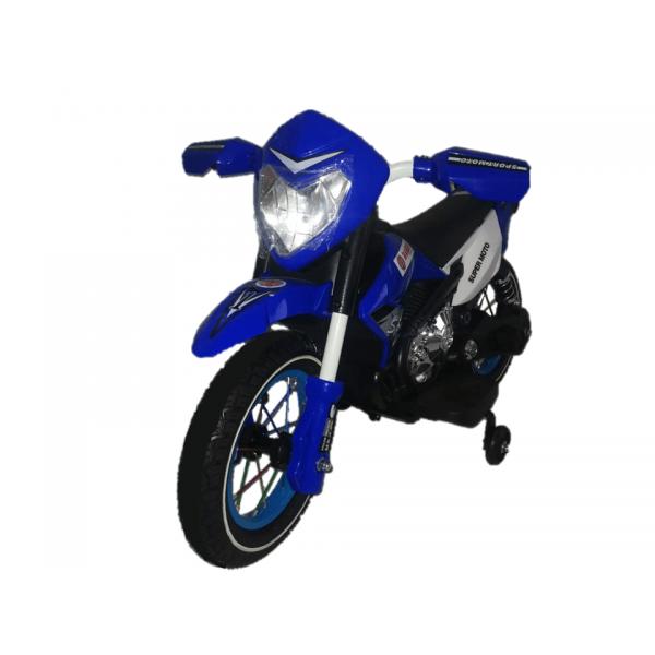 Moto Cross Elétrica Infantil BZ  USB, música e farol Brinquedos Elétricos
