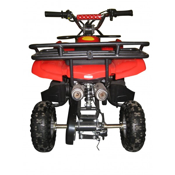 Quadriciclo 49cc BZ Rex partida elétrica, bagageiros, 2 tempos Quadriciclos