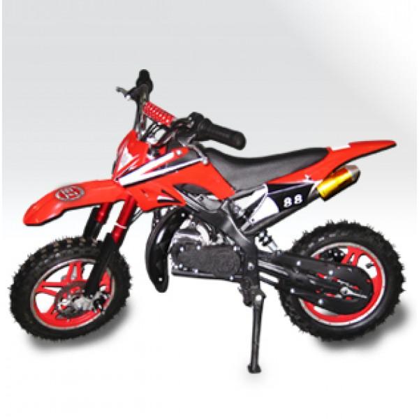 Mini Moto Cross 49cc BZ Arena  óleo 2 tempos, pneu aro 10 Mini Motos