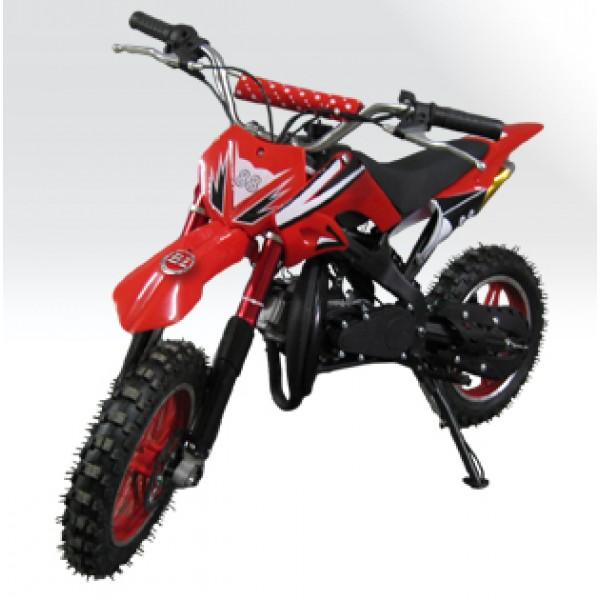 Mini Moto Cross 49cc BZ Arena  óleo 2 tempos, pneu aro 10