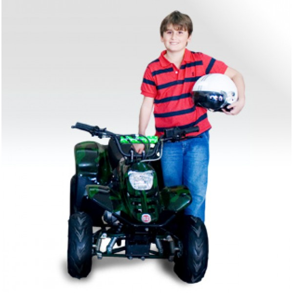 Quadriciclo 110cc BZ Flash Barzi Motors Pneus Aro 6' Quadriciclos