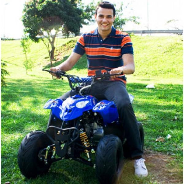 Quadriciclo 110cc BZ Moskiti Barzi Motors Pneus Aro 7' Quadriciclos