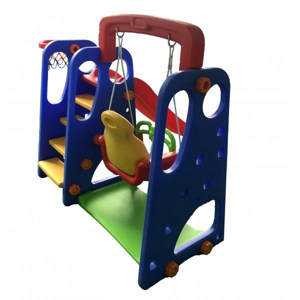 Playground Criança Feliz 3x1 com Escorregador, Balanço Playgrounds